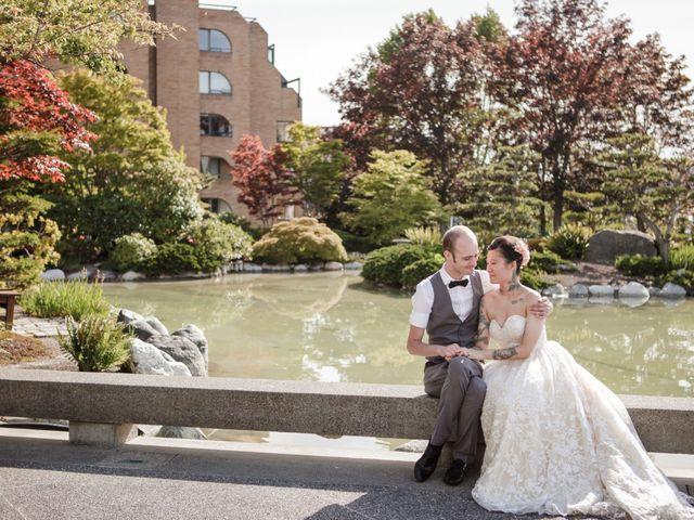 Timothy and Artemis's wedding in Victoria, British Columbia 33