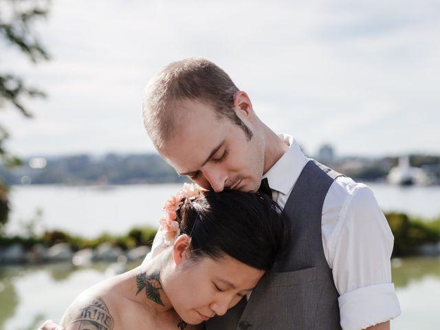 Timothy and Artemis's wedding in Victoria, British Columbia 34