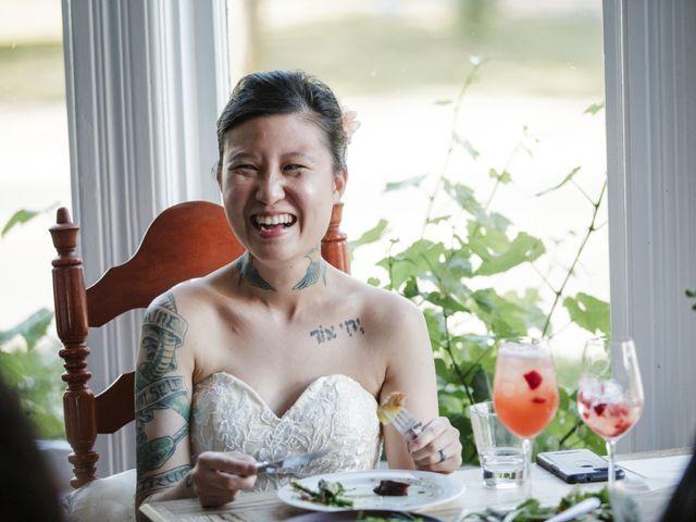 Timothy and Artemis's wedding in Victoria, British Columbia 44