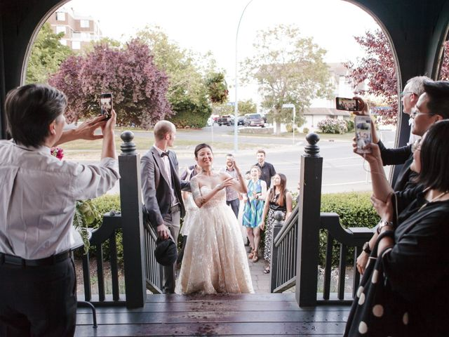 Timothy and Artemis's wedding in Victoria, British Columbia 59