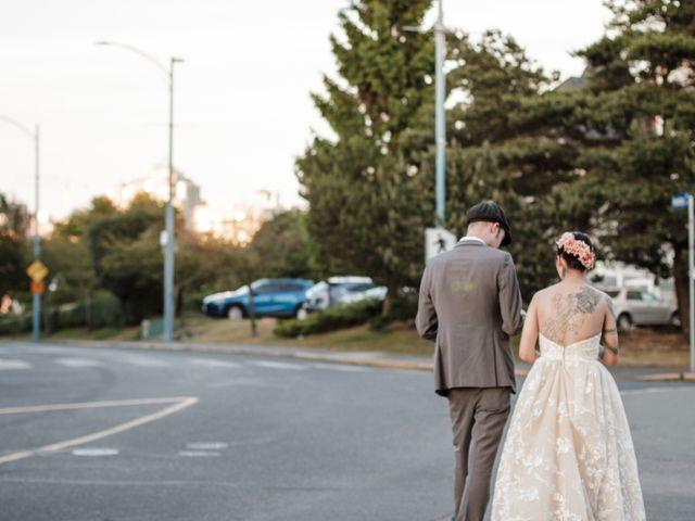 Timothy and Artemis's wedding in Victoria, British Columbia 61