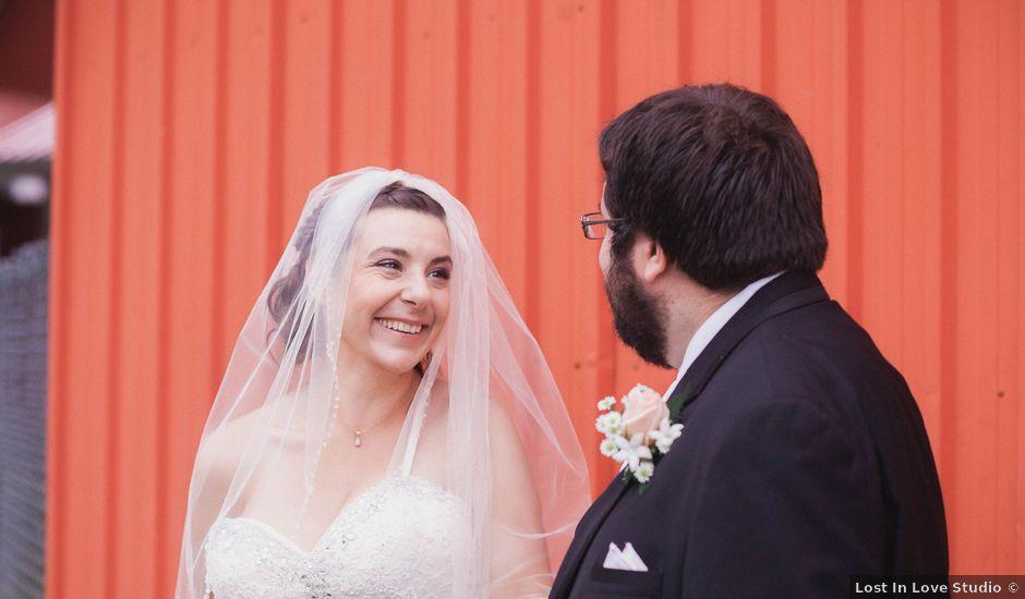 Shane and Ana's wedding in Wiarton, Ontario