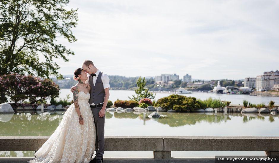 Timothy and Artemis's wedding in Victoria, British Columbia