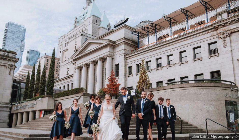 Richard and Rachael's wedding in Vancouver, British Columbia