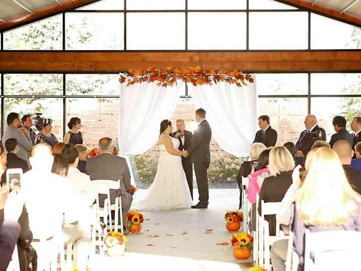 The wedding of Sameera and Tom