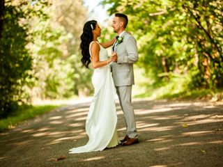 The wedding of Mike and Joane