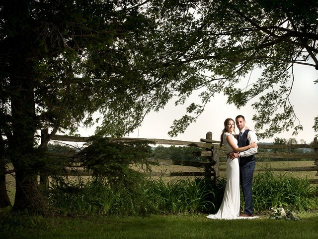 The wedding of Carlyn and Rob
