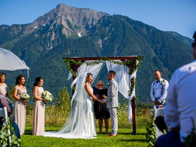Joane and Mike's wedding in Agassiz, British Columbia 2