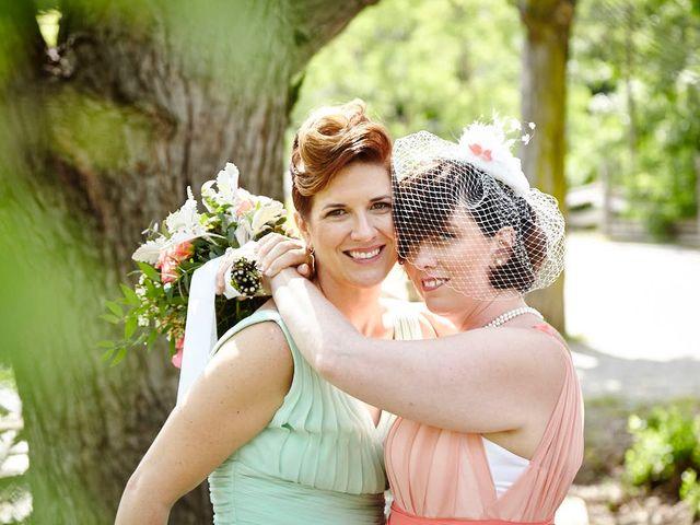 The wedding of Melissa and Emma