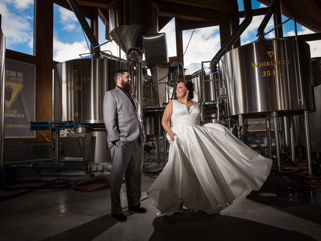 Chris and Michelle's wedding in Canmore, Alberta 1