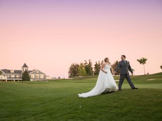 The wedding of Kyle Somerville and Leigh