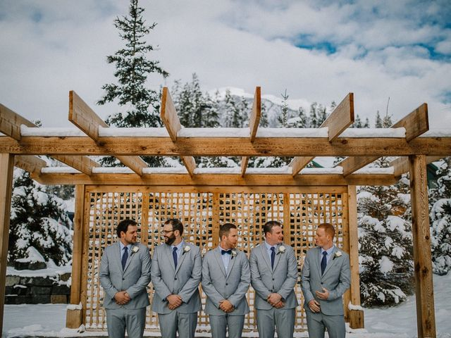 Adam and Sarah's wedding in Canmore, Alberta 11