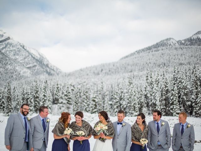 Adam and Sarah's wedding in Canmore, Alberta 2