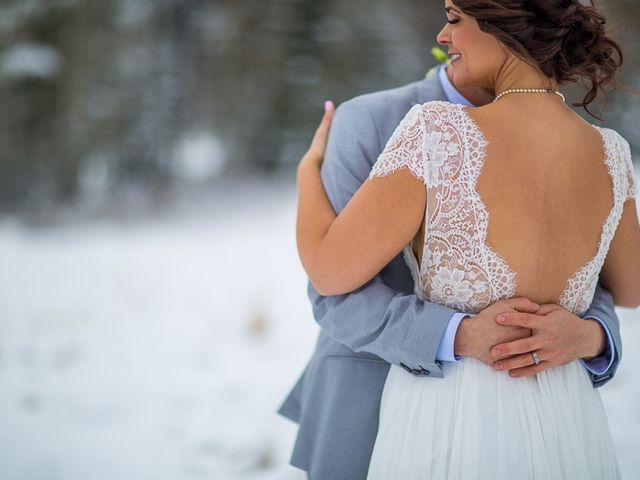 Adam and Sarah's wedding in Canmore, Alberta 13