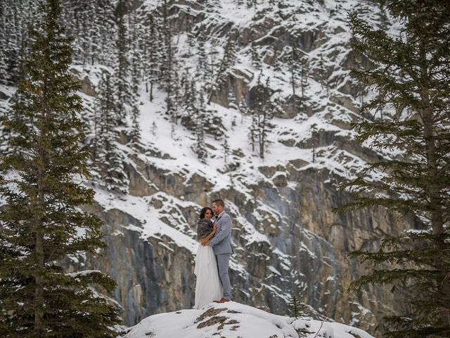 Adam and Sarah's wedding in Canmore, Alberta 14