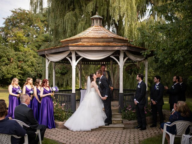 The wedding of Theresa and Dylan
