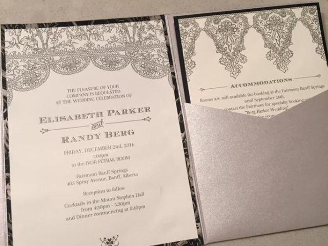 Randy and Elisabeth's wedding in Banff, Alberta 9