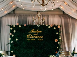 The wedding of Amber and Clarance 2