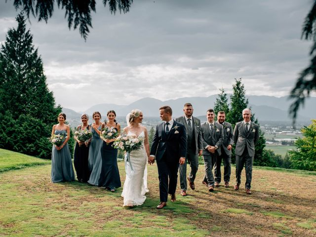 Clarance and Amber's wedding in Chilliwack, British Columbia 9
