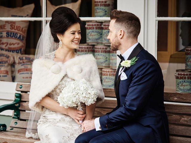 Bryan and Amanda's wedding in Burnaby, British Columbia 5