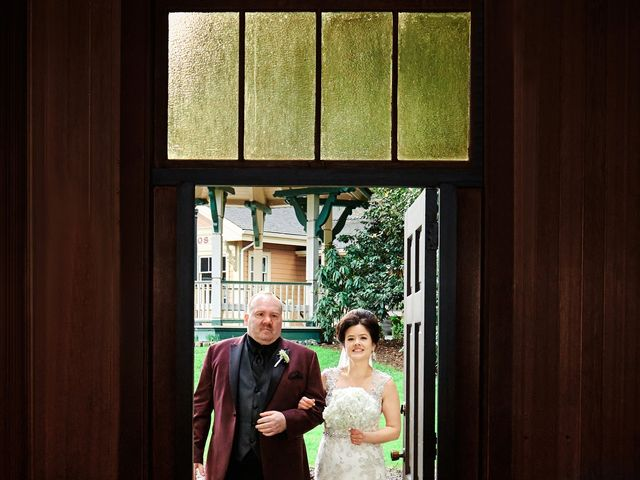 Bryan and Amanda's wedding in Burnaby, British Columbia 12
