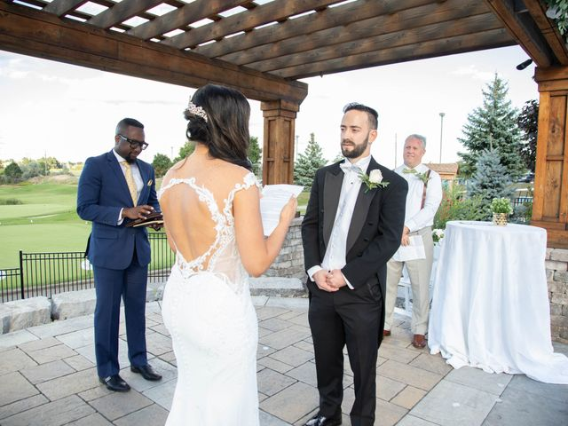 Gissele and Gianpiero's wedding in Etobicoke, Ontario 62