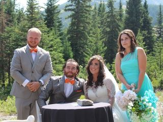 The wedding of Amber and Adam 3