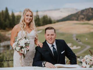 The wedding of Kory and Scott