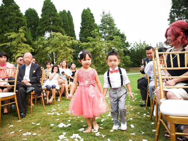 Tim and Jessica's wedding in Vancouver, British Columbia 29