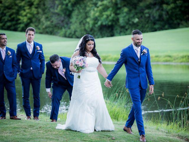 Fabio and Tania's wedding in Nobleton, Ontario 2