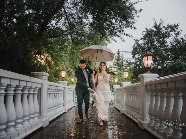 The wedding of Josh and Iva