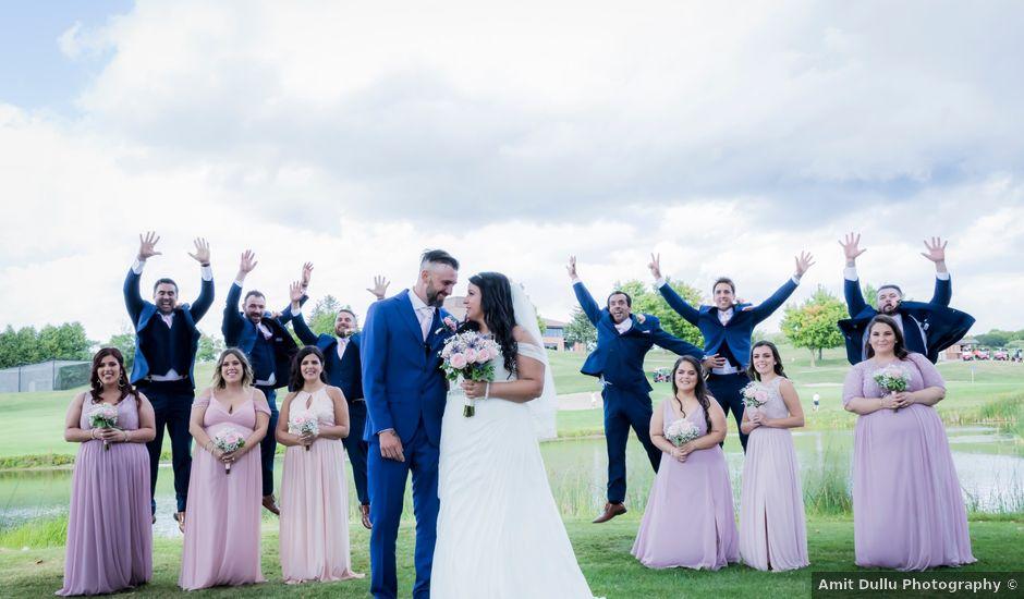 Fabio and Tania's wedding in Nobleton, Ontario