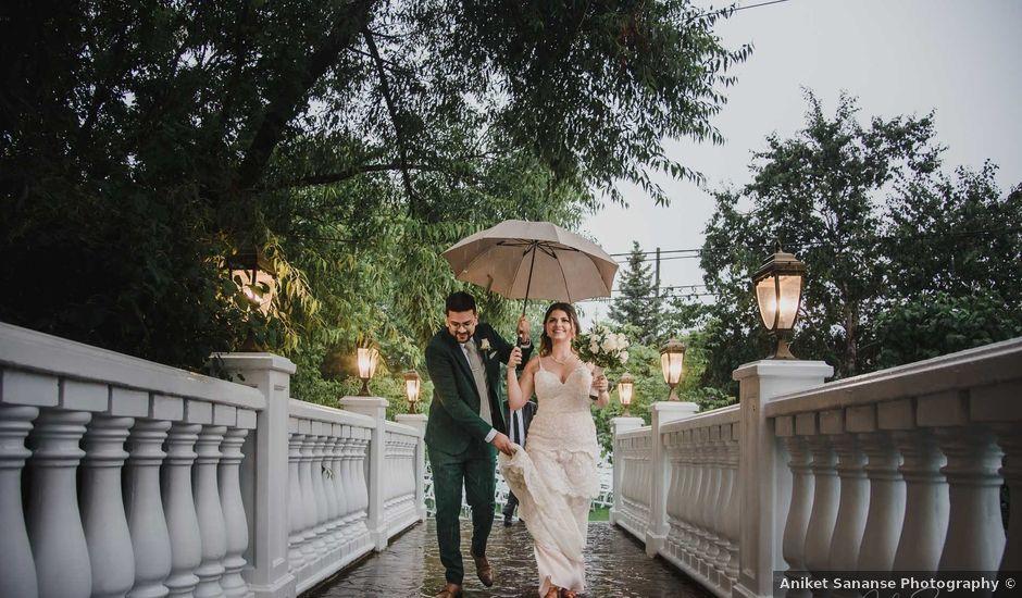 Iva and Josh's wedding in Brampton, Ontario