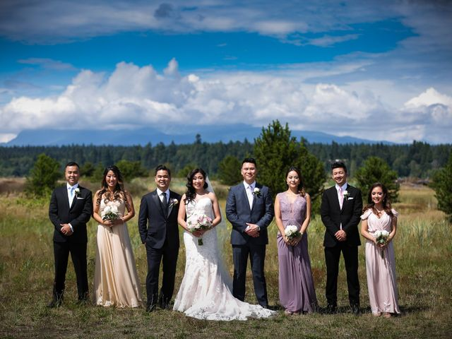 Hugh and Kelly's wedding in Vancouver, British Columbia 1