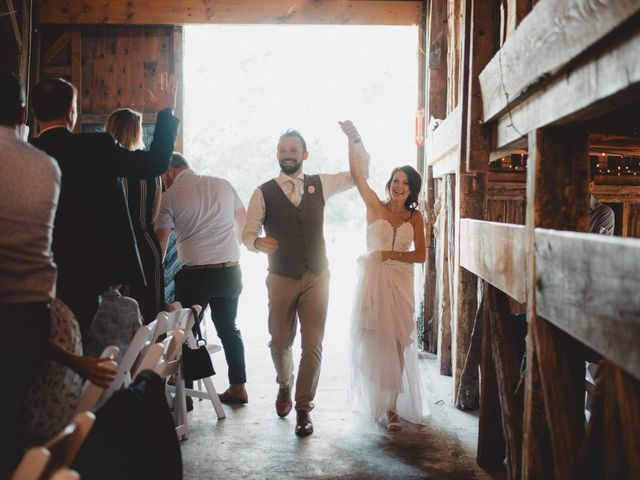 Tom and Meg's wedding in Prince Edward County, Ontario 207