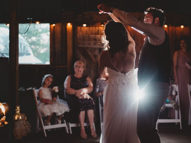 Tom and Meg's wedding in Prince Edward County, Ontario 2