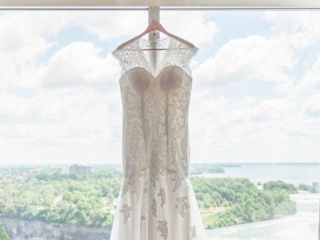 Gustavo and Andrea's wedding in Niagara Falls, Ontario 3