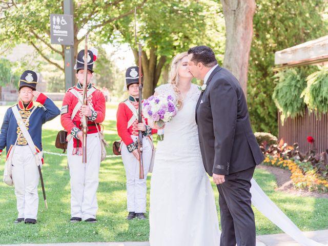 Gustavo and Andrea's wedding in Niagara Falls, Ontario 1