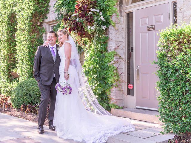 Gustavo and Andrea's wedding in Niagara Falls, Ontario 9