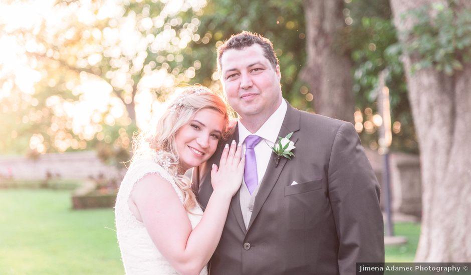 Gustavo and Andrea's wedding in Niagara Falls, Ontario