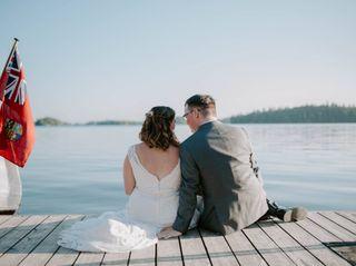 The wedding of Kait and Derek