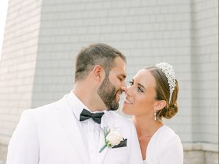 The wedding of Chloe  and Johnathan