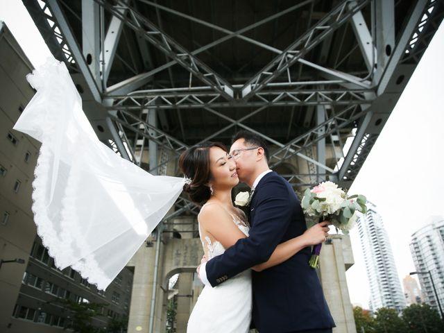 David and Jessica's wedding in Vancouver, British Columbia 1