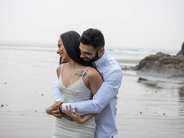Paul and Reet's wedding in Tofino, British Columbia 16