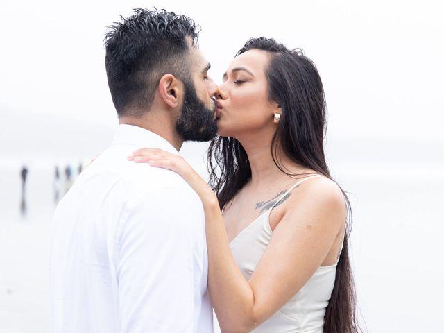 Paul and Reet's wedding in Tofino, British Columbia 32