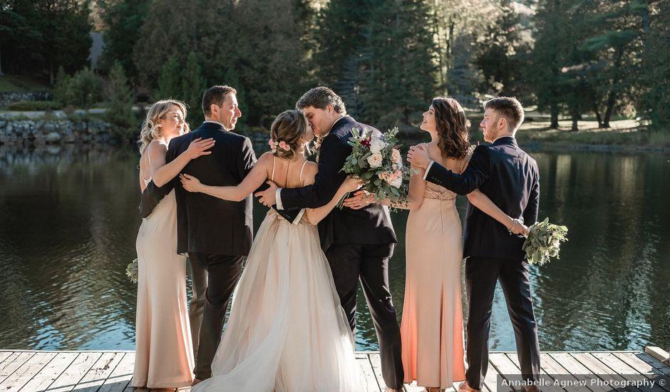 Jordan and Alex's wedding in Grenville-Sur-La-Rouge, Quebec