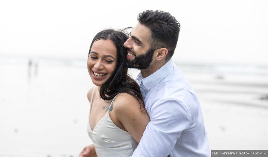 Paul and Reet's wedding in Tofino, British Columbia