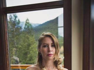 Chris and Lambie's wedding in Canmore, Alberta 7