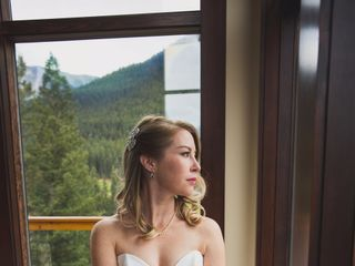 Chris and Lambie's wedding in Canmore, Alberta 8