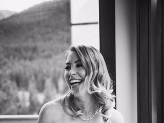 Chris and Lambie's wedding in Canmore, Alberta 9